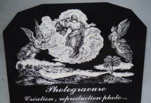 Photogravure L'Élévation du Christ